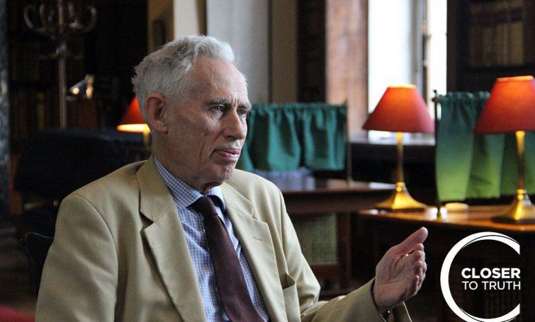 Photo of پاسخی کوتاه به پرسش «چرا چیزی هست، به جای این که نباشد؟»گفتوگو با ریچارد سویینبرن